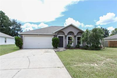 Citrus Springs Single Family Home For Sale: 8309 N. Triana Drive