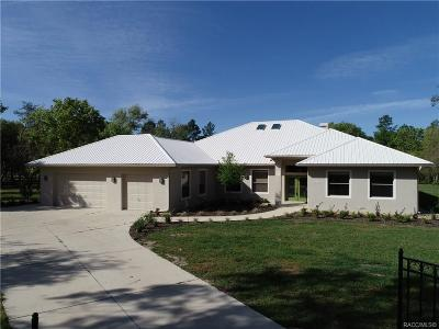 Citrus County Single Family Home For Sale: 3572 N Stirrup Drive
