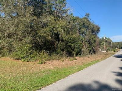 Inverness Residential Lots & Land For Sale: 3717 E Ryan Street
