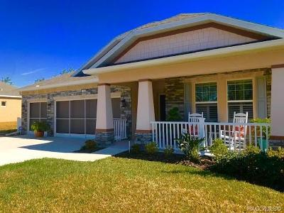 Homosassa Single Family Home For Sale: 12 Lone Pine Street