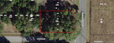 Inverness Residential Lots & Land For Sale: 4131 E Walker Street