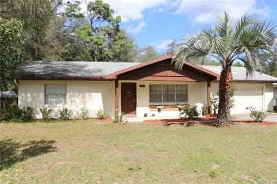 Inverness Single Family Home For Sale: 6377 E Wingate Street
