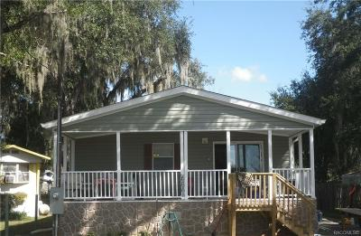 Hernando FL Mobile Home For Sale: $130,000