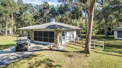 Hernando Single Family Home For Sale: 6425 E River Road #C