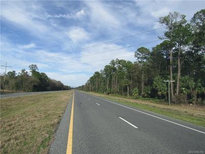 Inglis Residential Lots & Land For Sale: 0000 U.s. 19 Highway