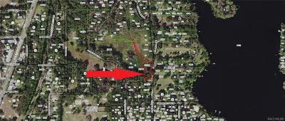 Floral City Residential Lots & Land For Sale: 7436 S Baker Avenue