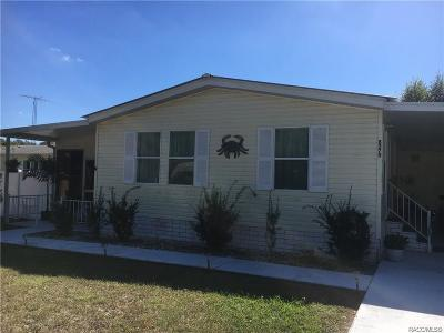 Mobile Home For Sale: 8270 E Molly Lane
