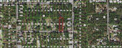 Citrus County Residential Lots & Land For Sale: 1267 E. Rockefeller Lane