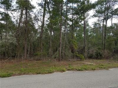 Citrus County Residential Lots & Land For Sale: 73 Bells Of Ireland Court