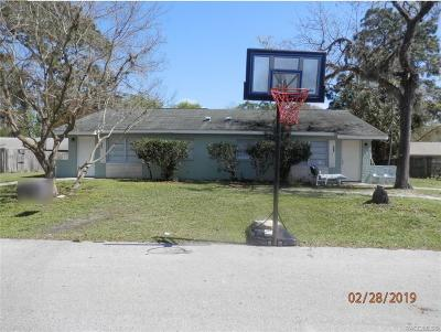 Crystal River Single Family Home For Sale: 473 N Briarcreek Point
