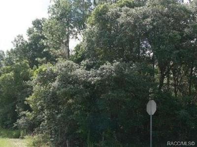 Floral City Residential Lots & Land For Sale: 11900 S Pine Oak Terrace