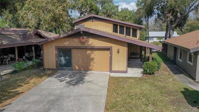 Homosassa, Dunnellon Single Family Home For Sale: 11659 W Riverhaven Drive