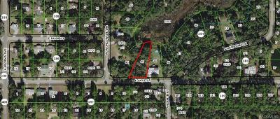 Inverness Residential Lots & Land For Sale: 5956 E Aloha Street