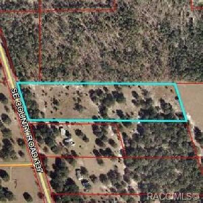 Dunnellon Residential Lots & Land For Sale: 11751 SE County Road 337 Road