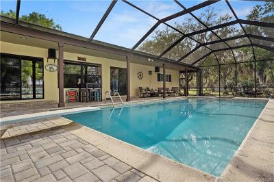 Dunnellon Single Family Home For Sale: 5911 W Riverbend Road #53