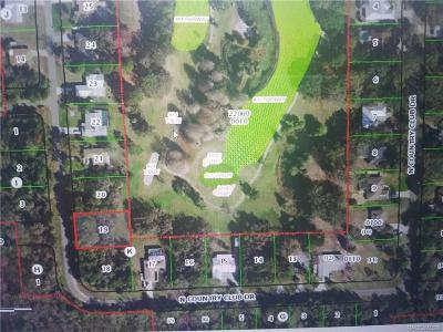 Crystal River Residential Lots & Land For Sale: 94 N Country Club Drive