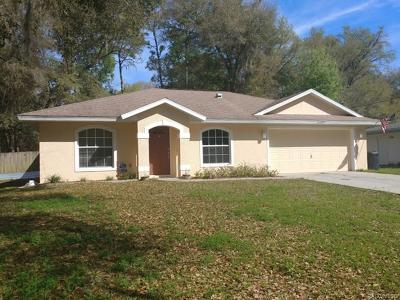 Inverness Single Family Home For Sale: 6085 E Ivy Lane