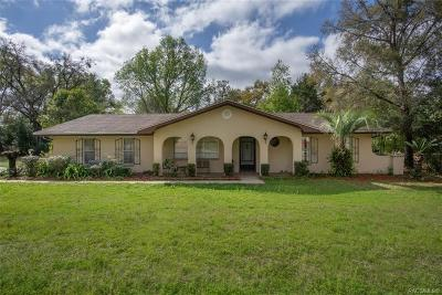 Inverness Single Family Home For Sale: 6556 E Morley Street