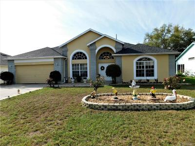 Lecanto Single Family Home For Sale: 5578 W Dayflower Path