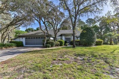 Homosassa Single Family Home For Sale: 4 Salvia Court W