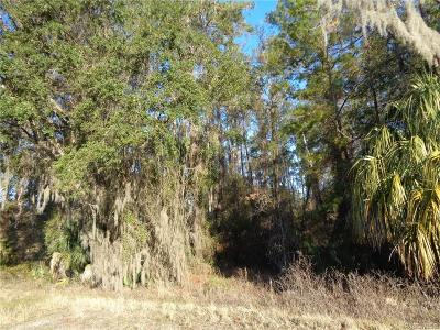 Inverness Residential Lots & Land For Sale: 11807 E Gulf To Lake Highway
