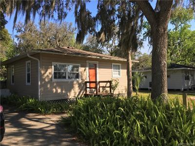 Crystal River Single Family Home For Sale: 371 Three Sisters Springs Trail