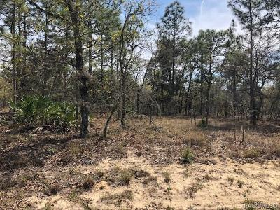 Homosassa Residential Lots & Land For Sale: 17 Pagoda Court E