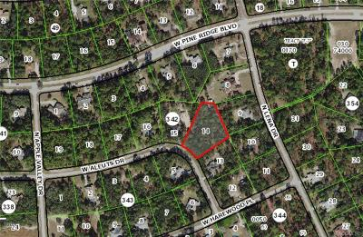 Beverly Hills Residential Lots & Land For Sale: 2167 W Aleuts Drive