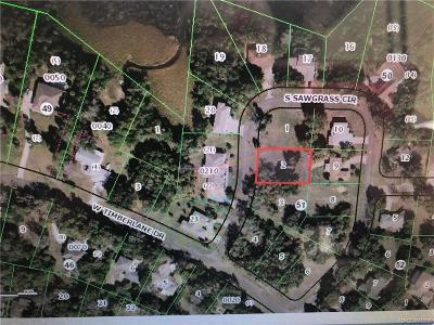 Homosassa Residential Lots & Land For Sale: 4540 Sawgrass