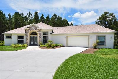 Hernando FL Single Family Home For Sale: $556,394