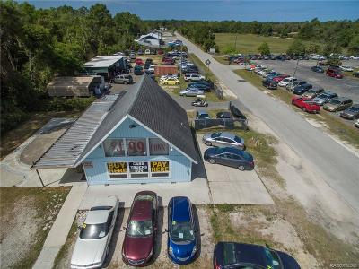 Homosassa, Dunnellon Commercial For Sale: 1756 S Suncoast Boulevard