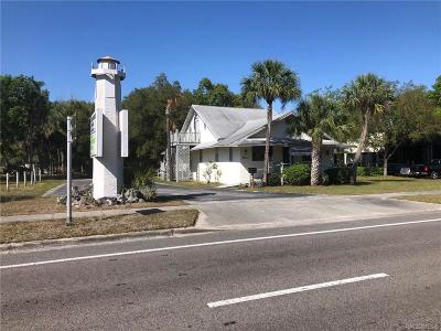 Crystal River Commercial For Sale: 823 E Gulf-To-Lake Highway