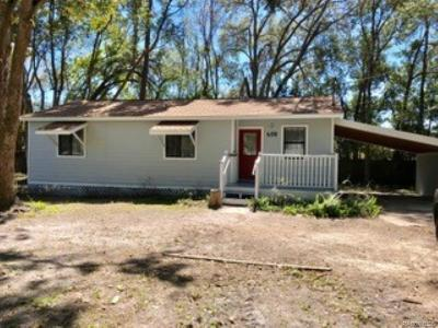 Crystal River Single Family Home For Sale: 656 NE 11th Street
