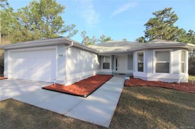 Single Family Home For Sale: 4153 W Fireside Lane