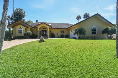 Homosassa Single Family Home For Sale: 4255 S Purslane Drive