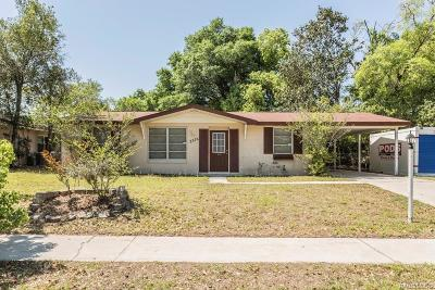 Citrus Springs Single Family Home For Sale: 2376 W Jonquil Drive