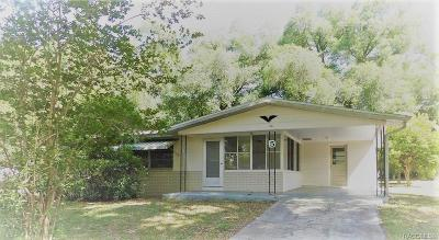 Single Family Home For Sale: 5 S Tyler Street