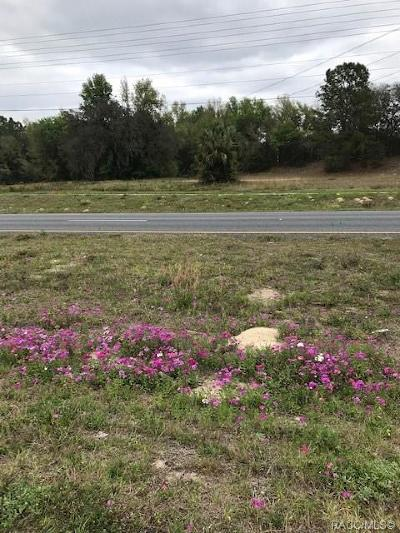 Lecanto Residential Lots & Land For Sale: 4165 W Gulf To Lake Highway