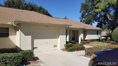Citrus County Rental For Rent: 5991 W Dedham Trail