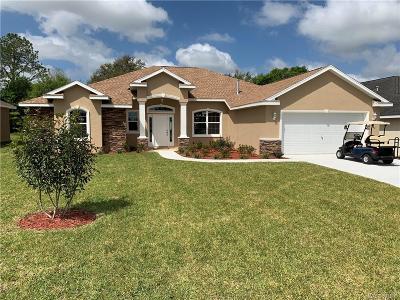 Hernando Single Family Home For Sale: 422 W Cobblestone Loop