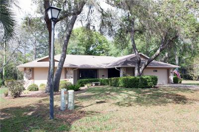 Homosassa Single Family Home For Sale: 13 Asters Court