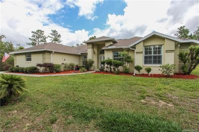 Dunnellon Single Family Home For Sale: 7031 N Damascus Avenue