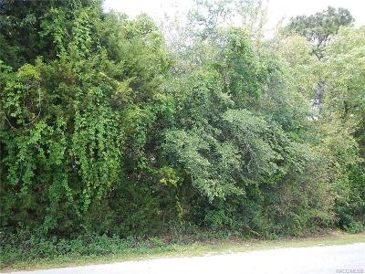 Citrus County Residential Lots & Land For Sale: 6684 S Gross Avenue