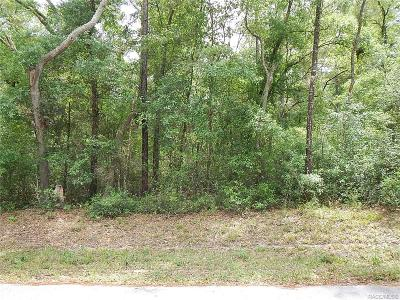 Citrus County Residential Lots & Land For Sale: 3560 E Baxley Place