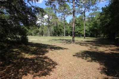 Inverness Residential Lots & Land For Sale: 8863 S Evans Avenue