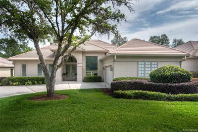 Lecanto FL Single Family Home For Sale: $299,000