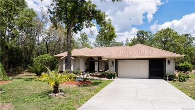 Sugarmill Woods Single Family Home For Sale: 20 Pawpaw Court S