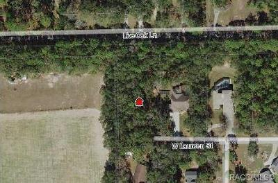 Lecanto Residential Lots & Land For Sale: 2855 W Laureen Street