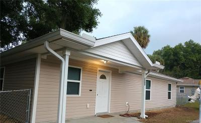 Crystal River Single Family Home For Sale: 1362 NE 5th Avenue