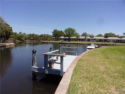 Crystal River Condo/Townhouse For Sale: 11582 W Kingfisher Court